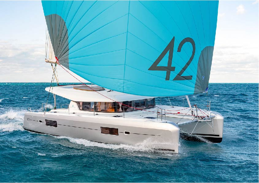 rental of catamaran in Ibiza
